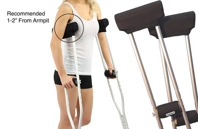 Crutcheze Underarm Crutch Pad
