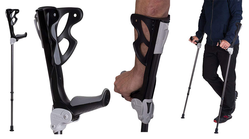 Ergodynamic Forearm Crutches