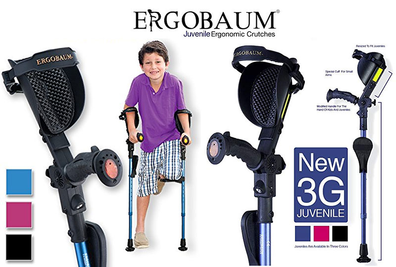 Ergobaum Absorber Crutches