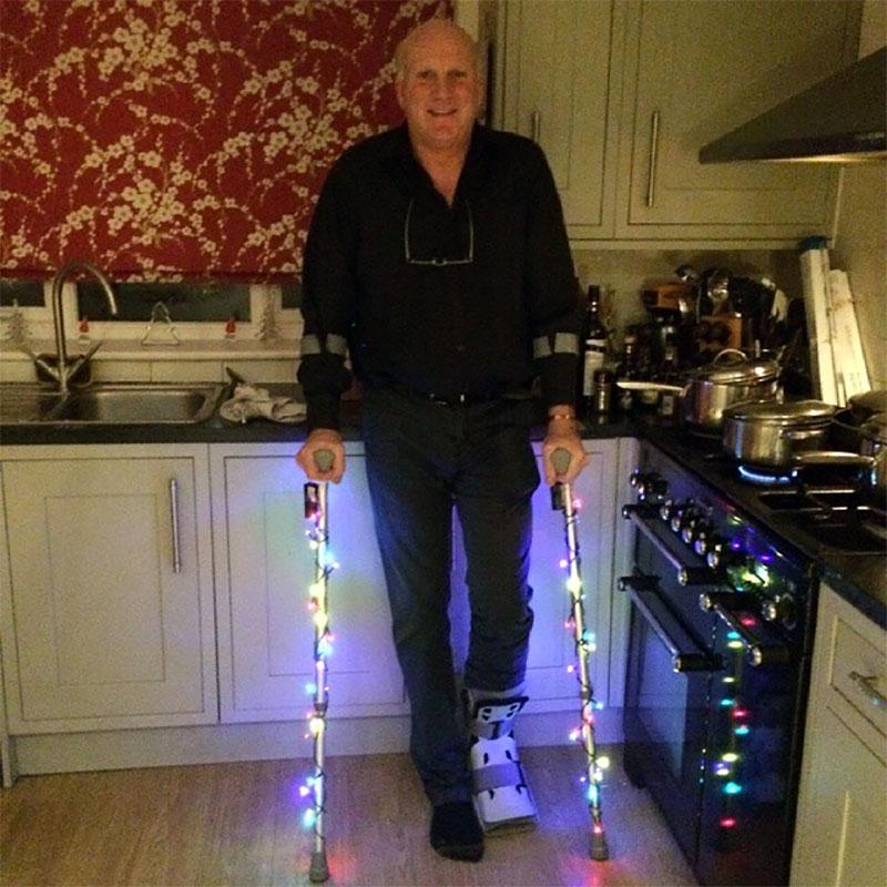 Crutches For Christmas