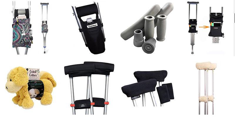 Crutch Cushions for Underarm Crutches