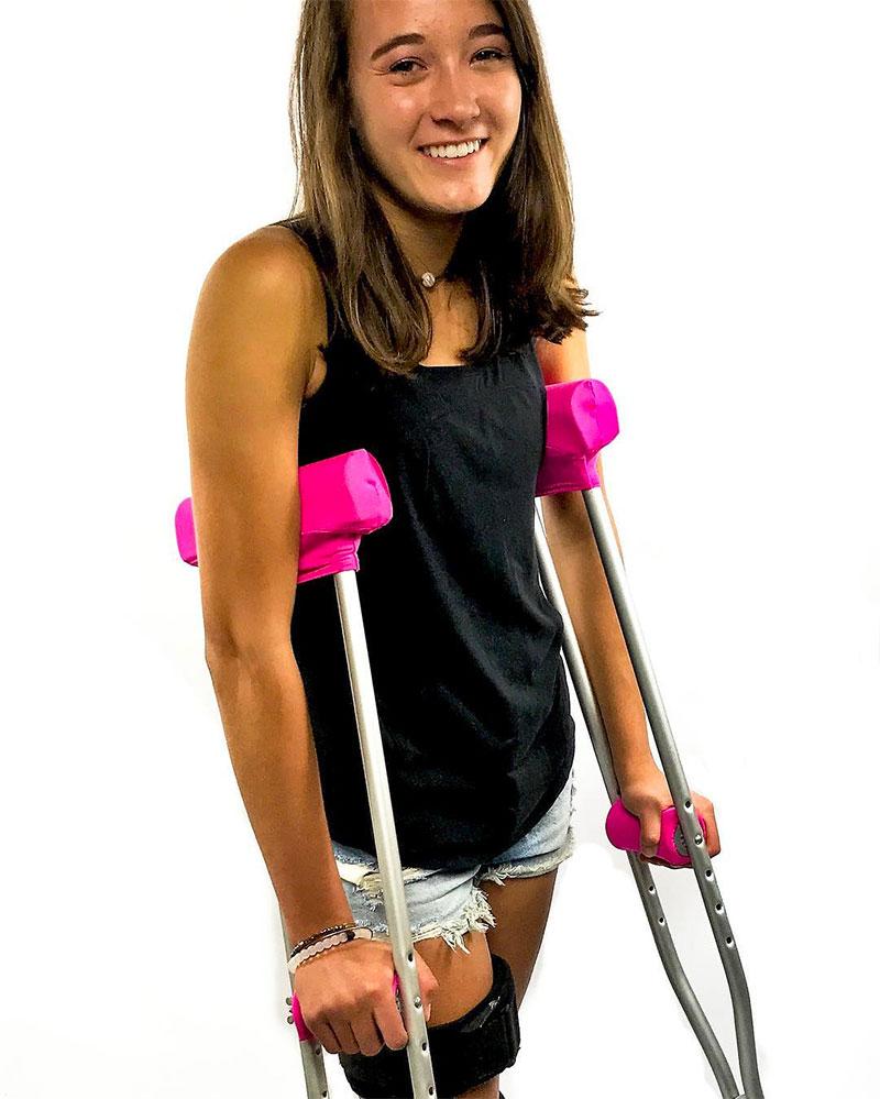 Crutch pads